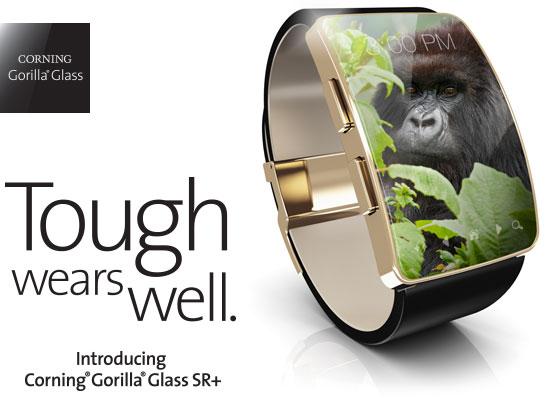 Corning представила защитное стекло Gorilla Glass SR+ для смарт-часов