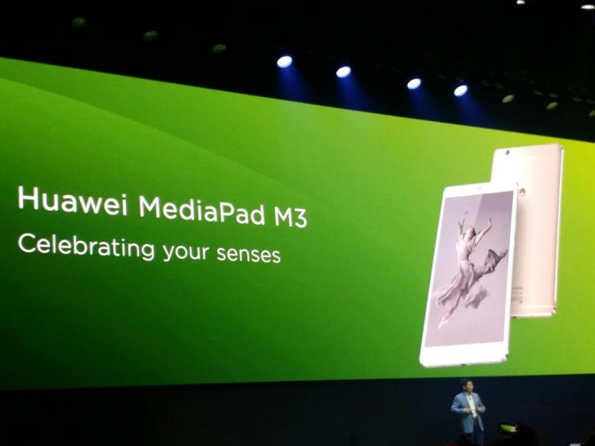 IFA 2016: 8,4-дюймовый Huawei MediaPad M3 получил динамики Harman Kardon