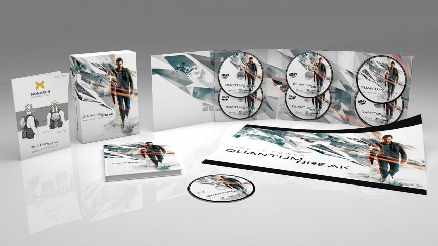 Коллекционное издание Quantum Break. Timeless Collector's Edition вышло в продажу