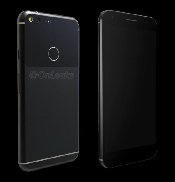 3D-рендер Google Pixel XL подтвердил размеры