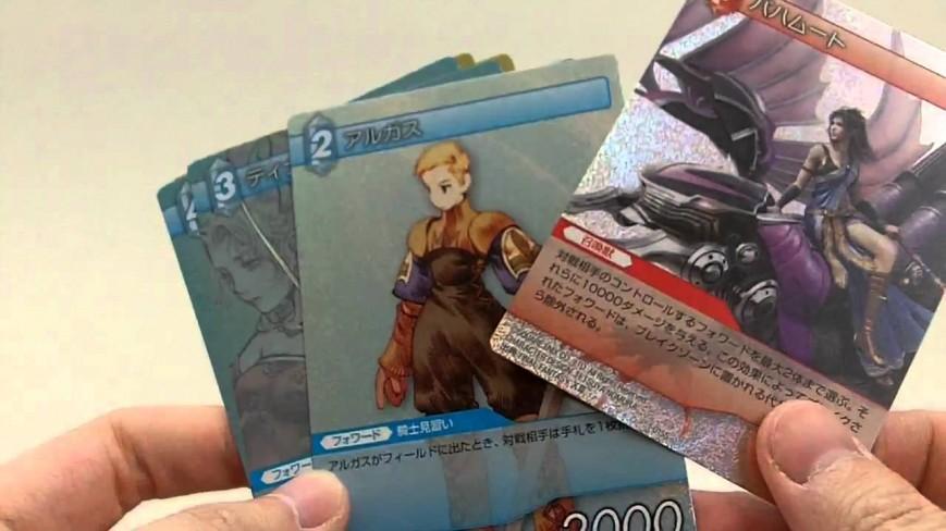 Final Fantasy Trading Card Game выйдет на Западе