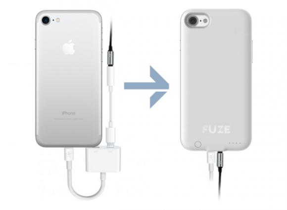 Чехол Fuze возвращает мини-джек в iPhone 7