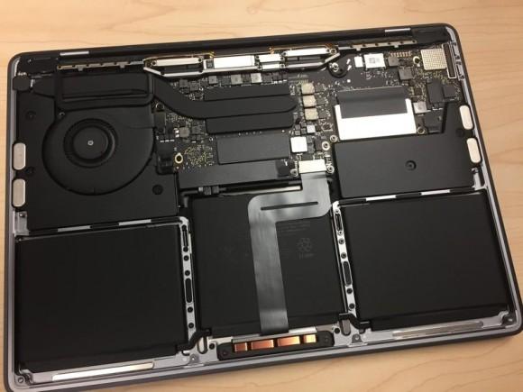 У младшего MacBook Pro обнаружился съемный SSD