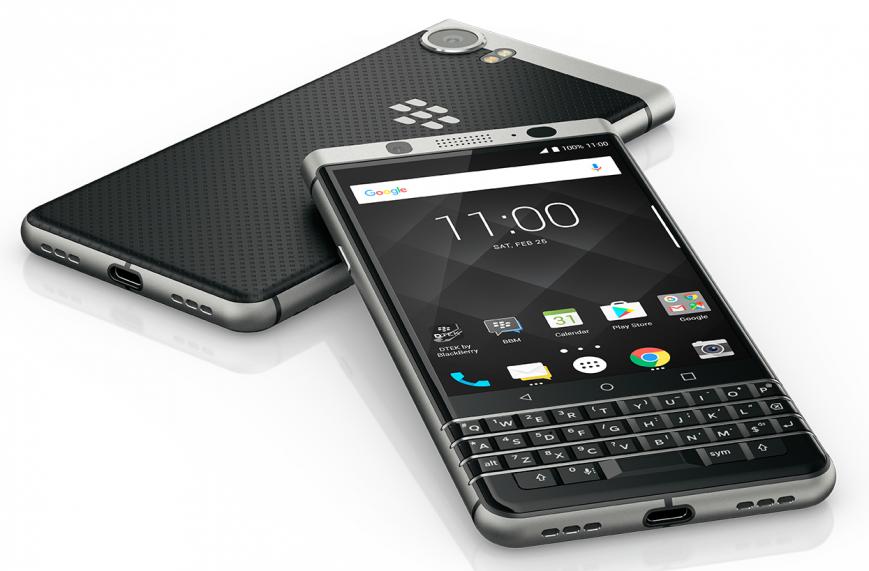 Выход QWERTY-смартфона BlackBerry KeyOne отложен до лета