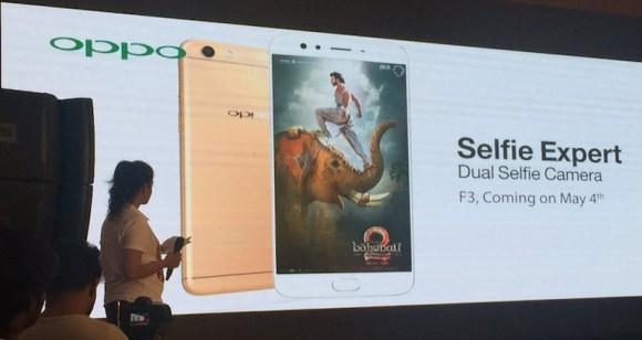 Смартфон Oppo F3 с двойной селфи-камерой засветился в подробностях