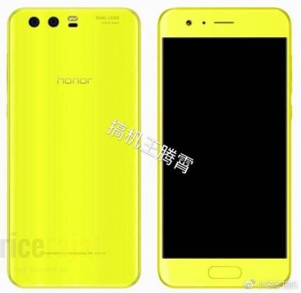 Цвета Huawei Honor 9 показались на рендерах