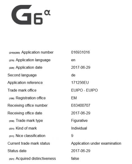 LG готовит LG G6 Alpha и G6 Prime для Европы