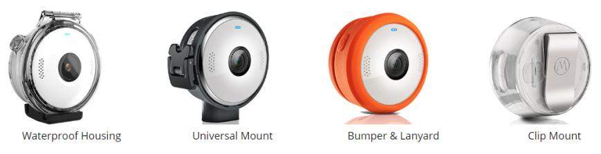 Motorola выпустила камеру Verve Cam+ для трансляций со смартфона
