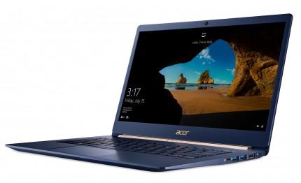 Acer представила компактный ноутбук Swift 5 и перевертыш Spin 5 на Kaby Lake-R