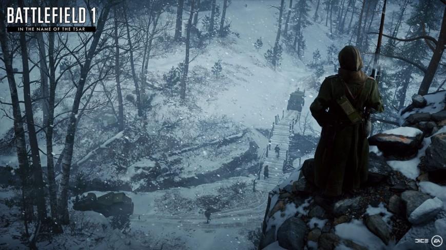 Объявлена дата релиза дополнения «Во имя царя» для Battlefield 1