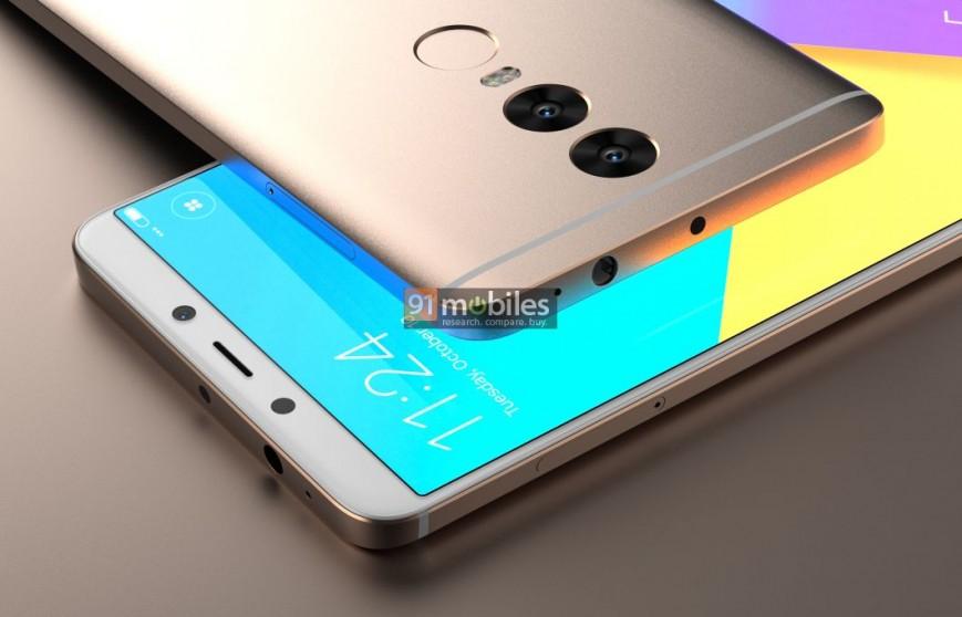 Xiaomi Redmi Note 5 с двойной камерой засветился на рендерах