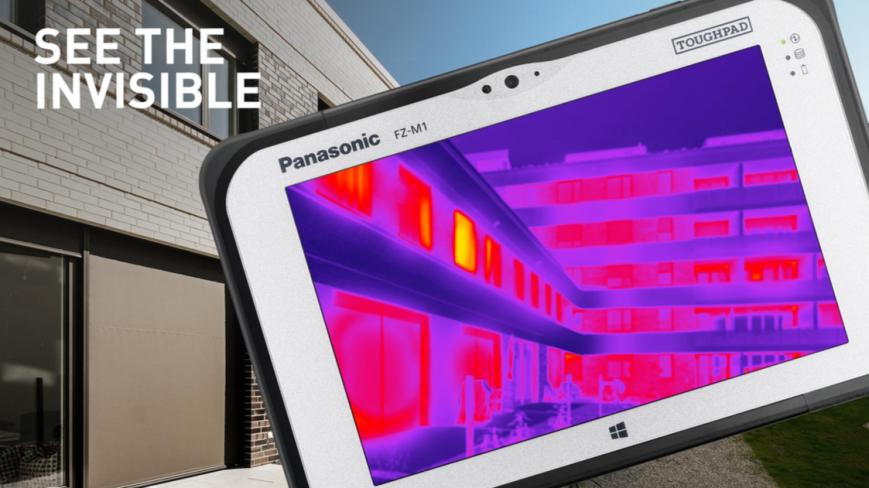 Защищенный планшет Panasonic Toughpad FZ-M1 оснащен тепловизором