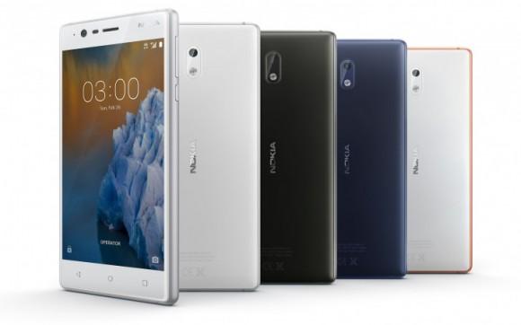Смартфон Nokia 3 начал получать бета-версию Android 8.0 Oreo