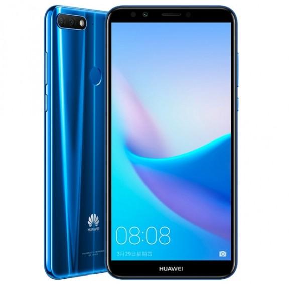 Huawei представила серию недорогих безрамочный смартфонов Enjoy 8