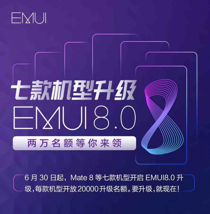 Huawei огласила, какие смартфоны получат новую версию Android