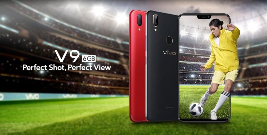 Vivo представила более мощную версию V9 с «бровью»