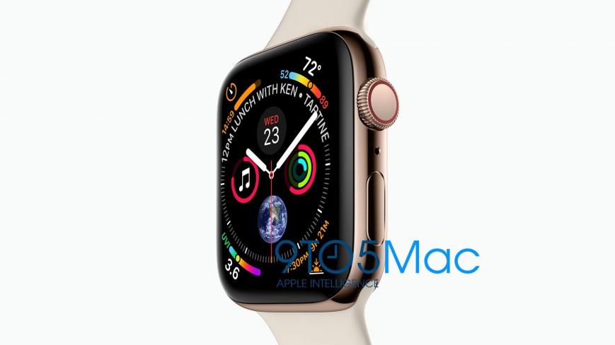 В сеть утекли смарт-часы Apple Watch Series 4 с безрамочным дизайном