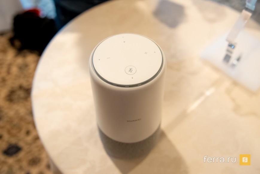 Huawei скрестила смарт-колонку с 4G-роутером