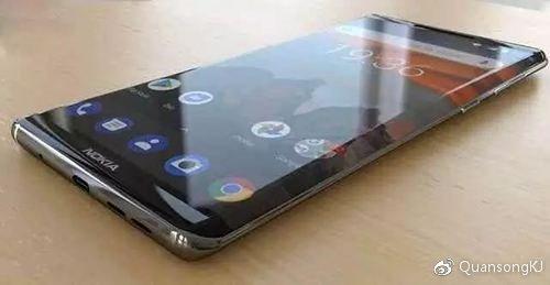 Смартфон Nokia 9 с пятью тыльными камерами показали спереди