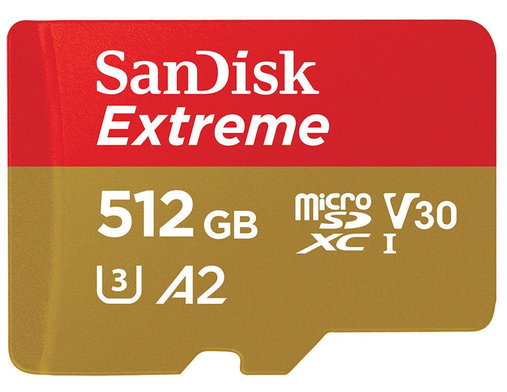 SanDisk представила самую быструю в мире карту памяти microSD на 1 ТБ