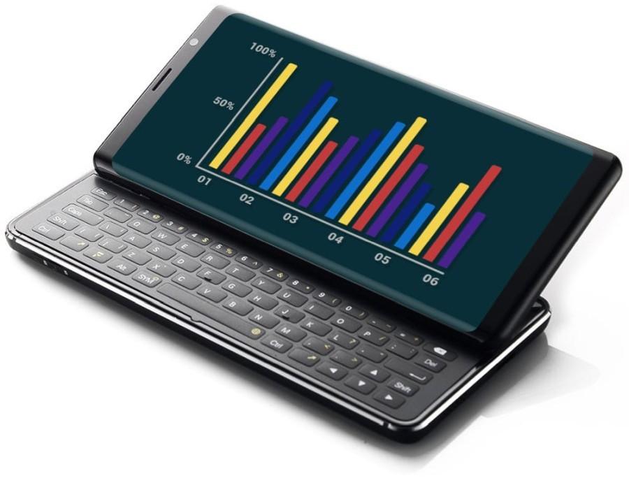 Смартфон F(x)tec Pro 1 возродит формат боковых слайдеров