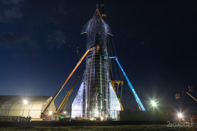Новая концепция межпланетных кораблей SpaceX от Илона Маска (4 фото + видео)