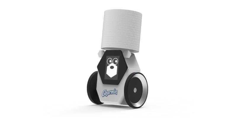 Представлен домашний робот для доставки туалетной бумаги