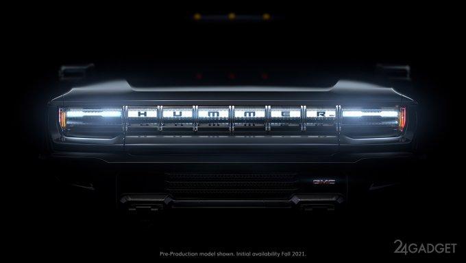 Hummer EV с электрическим двигателем на 1000 л.с. выйдет в следующем году (4 видео)
