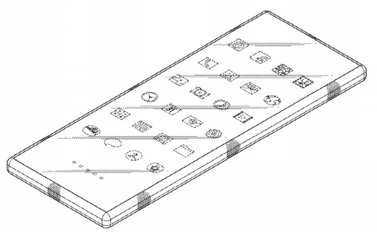 Samsung изобрела смартфон, изгибающийся в форме восьмёрки