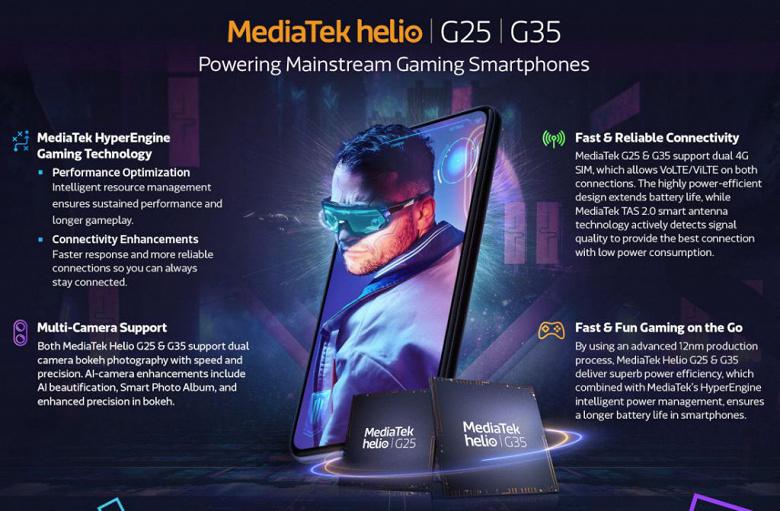 MediaTek раскрыла подробности о процессорах новейших бюджетных смартфонов Xiaomi