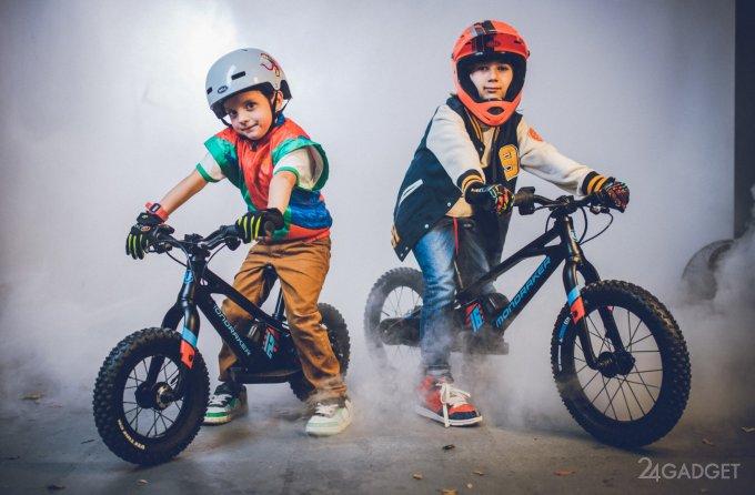 Grommy Mondraker – электрический велосипед для малышей (5 фото + видео)