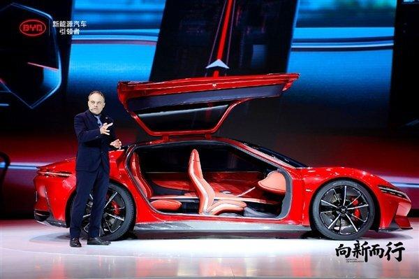 В Китае анонсировали новый электромобиль, напоминающий смесь легендарных Mercedes и Porsche