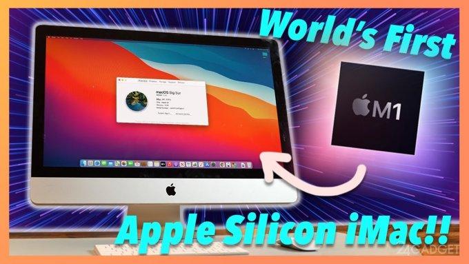 Энтузиаст самостоятельно собрал iMac на базе ARM процессора (видео)