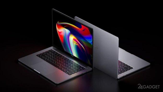 Xiaomi представила обновленную линейку ноутбуков Mi Laptop Pro (4 фото)
