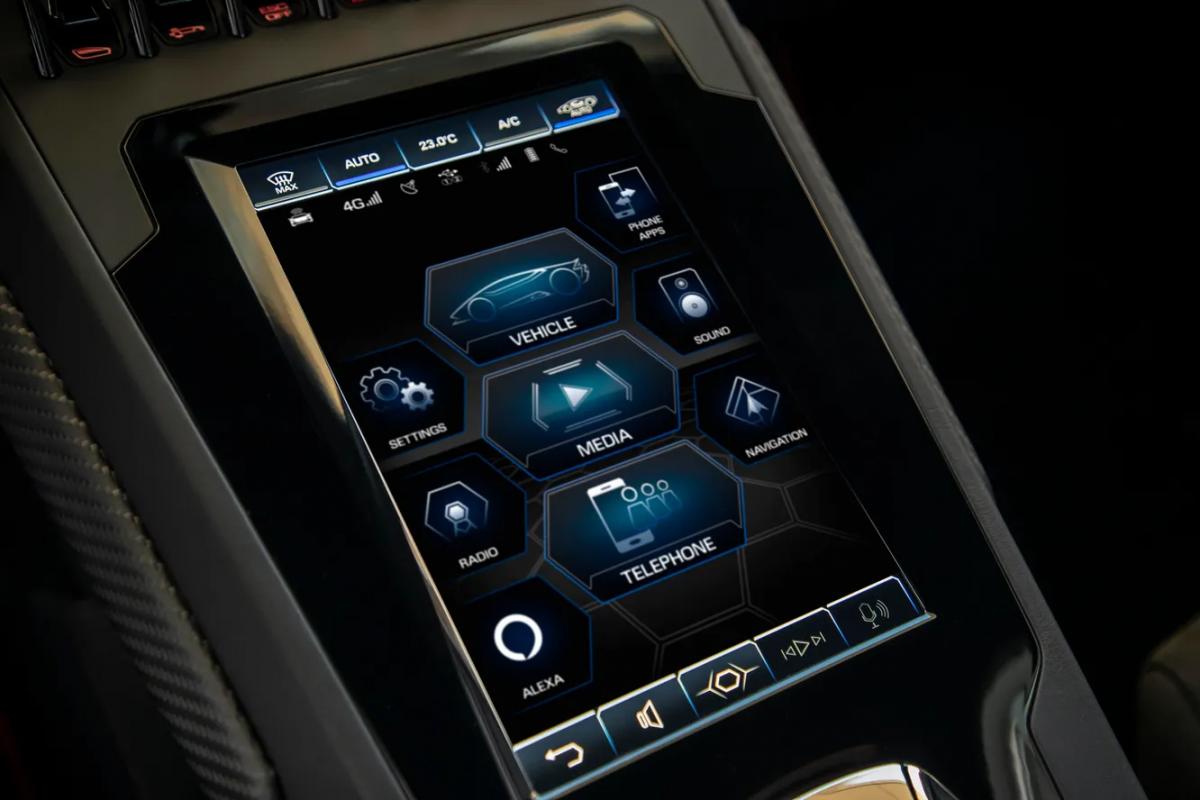 В Lamborghini появится голосовое управление