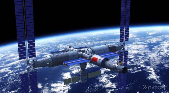 На орбиту выводится главный модуль будущей китайской космической станции Tianhe (видео)
