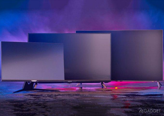 Gigabyte представила три геймерские 4Кмонитора с диагональю от 32 до 48 дюймов