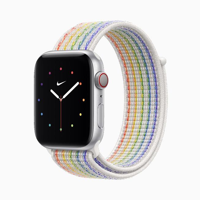 Apple поддержала геев выпуском новых ремешков для часов
