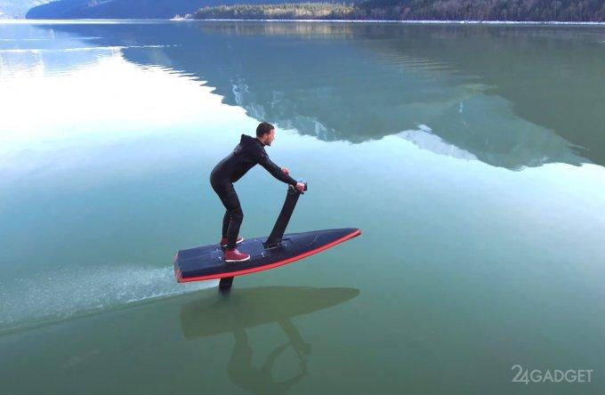 Модифицированный гидрофлайер Unifoil облегчит обучение полетам над водой (видео)