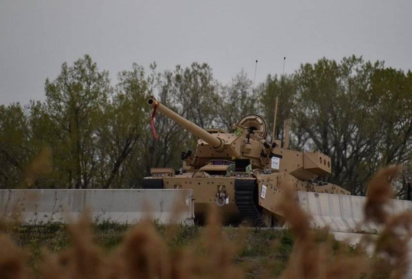 На фото попал новый лёгкий танк для Армии США