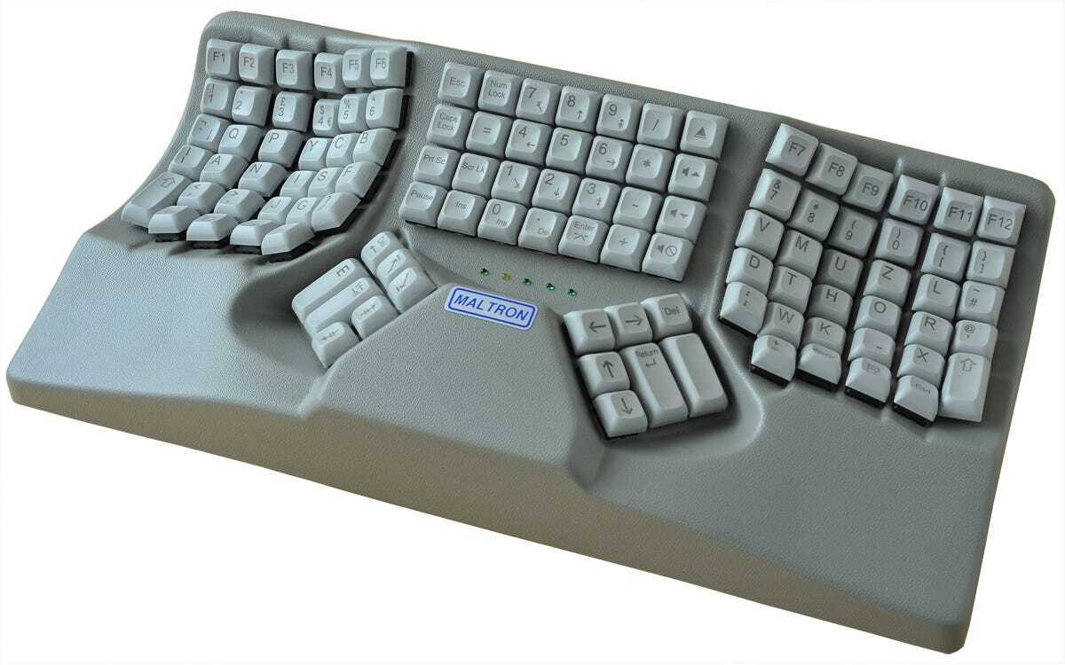 Новейшая модель клавиатуры, с которой у вас перестанут болеть руки при работе за компьютером