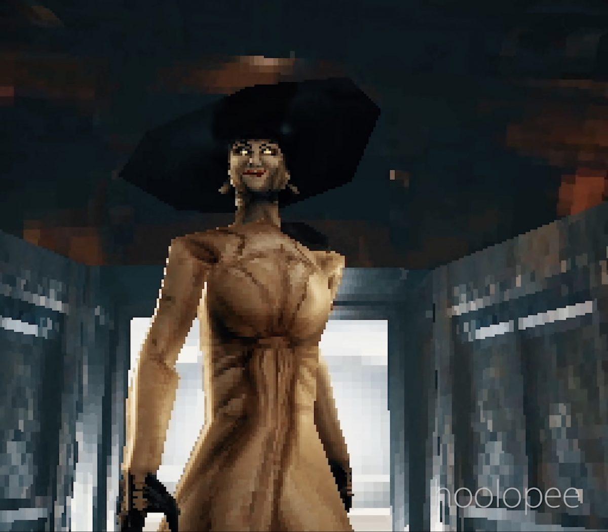 Опубликовано видео, демонстрирующее новейший Resident Evil Village с графикой уровня первой PlayStation