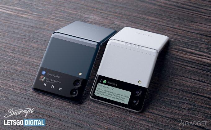Опубликованы первые реальные изображения складного смартфона Samsung Galaxy Z Flip 3 (видео)