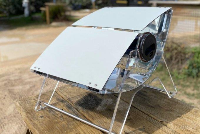Солнечная печь Sizzle приготовит пищу и днем и ночью (видео)