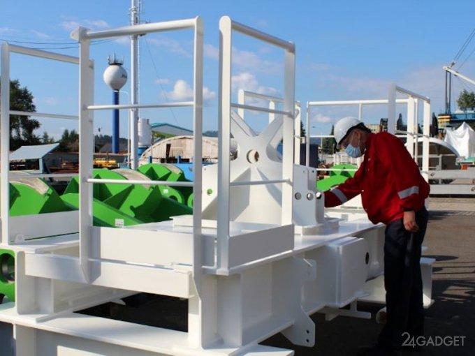 Тестовые испытания гравитационного накопителя энергии прошли успешно (4 фото + 2 видео)