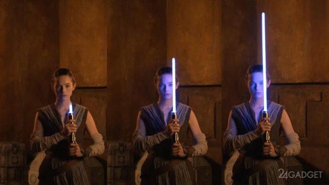 Disney создала реальный выдвигающийся световой меч джедаев из «Звездных войн» (видео)