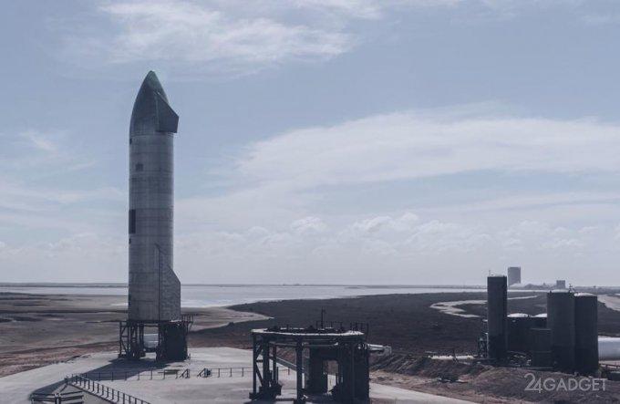 SpaceX провела удачное испытание прототипа Starship и посадила корабль без взрывов (видео)