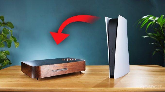 Эксперт представил PlayStation 5 в деревянном корпусе (видео)