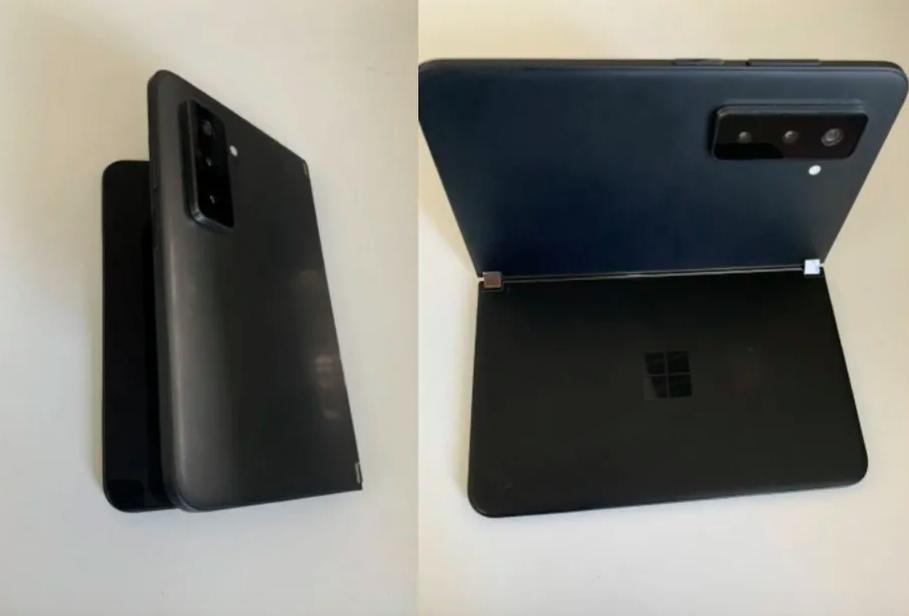 В сеть утекли фото нового двухэкранного смартфона Microsoft