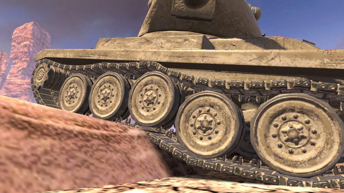 Как мы улучшили графику World of Tanks Blitz для современных смартфонов и планшетов